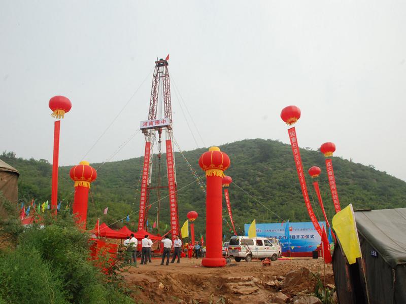 河南省煤田局采购河北yabosportsapp生产的TSJ2000型水源yabo4达到6台套用于煤层气钻井施工