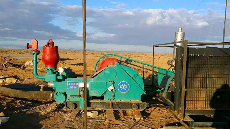 少林公司采购河北yabosportsapp生产的3NB系列泥浆泵用于阿尔及利亚水井施工