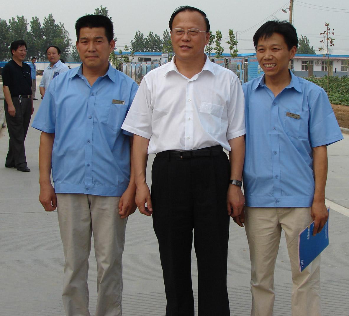河北省副省长姜德果到我公司调研