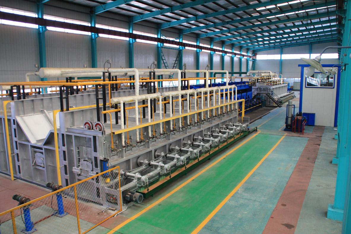 石油钻杆分厂成套热处理设备