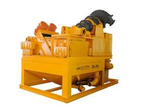 齐发娱乐官方网站_ZX-250型泥浆净化装置