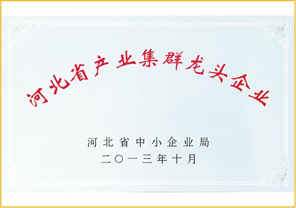 齐发娱乐官方网站_河北省产业集群龙头企业
