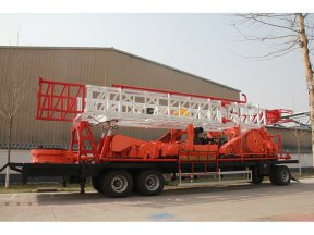 SPT-1500 Trailer-mounted water well drilling rig