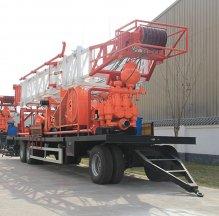 SPT-300米拖车钻